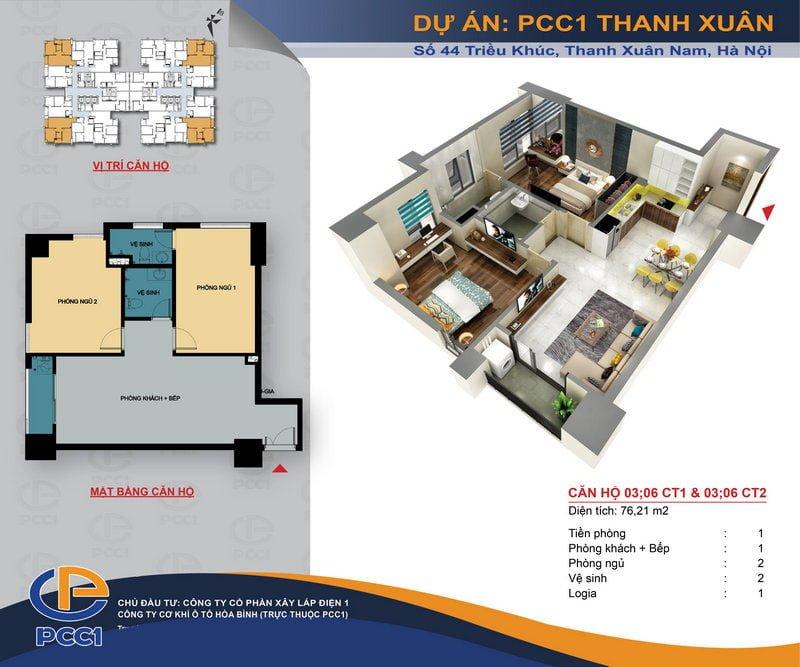 Thiết kế căn hộ 03 & 06