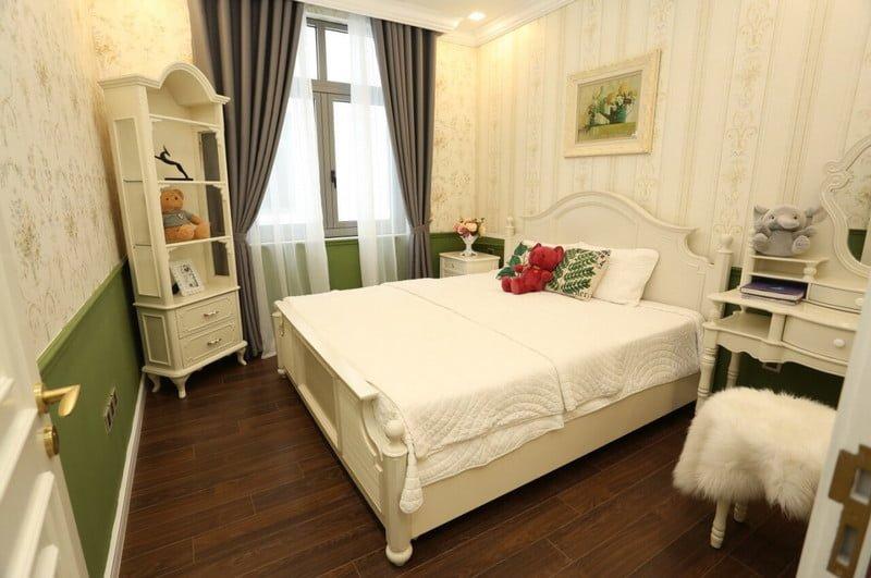 Phòng ngủ biệt thự Vinhomes