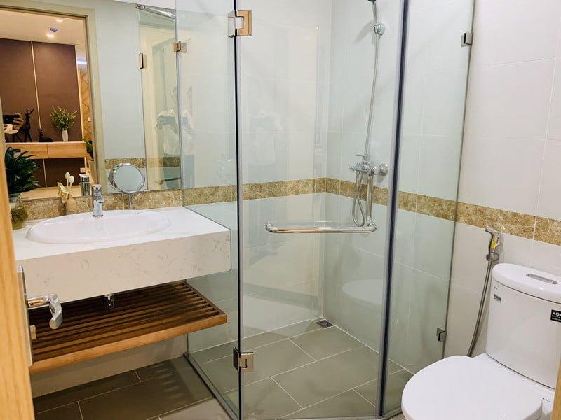 Khu WC khép kín giúp cho việc sinh hoạt tiện lợi hơn