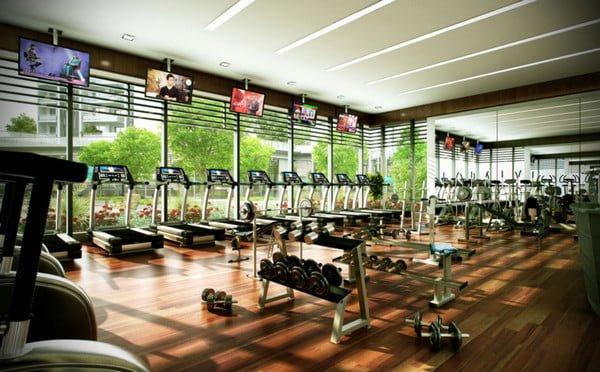 Phòng Gyms hiện đại