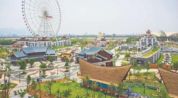 Một góc dự án công viên giải trí Sun World Hạ Long