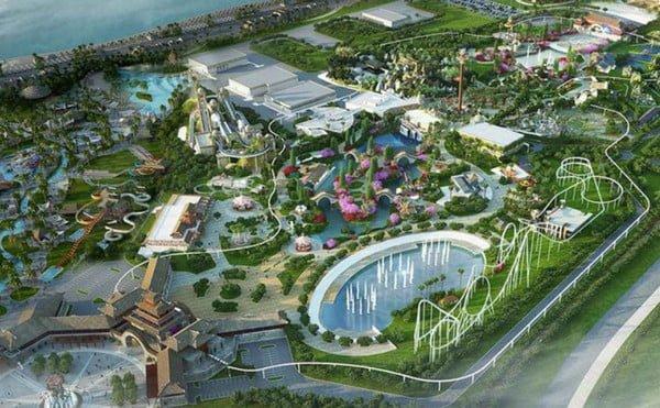 Phối cảnh dự án công viên & khu nghỉ dưỡng SunGroup Sầm Sơn