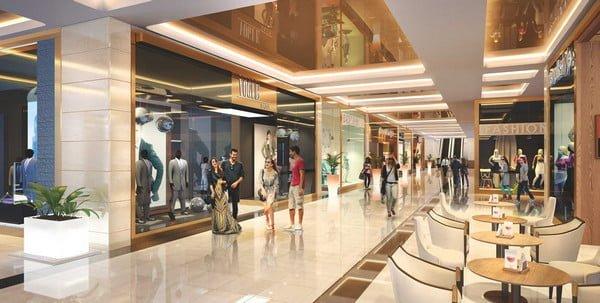 Hệ thống trung tâm thương mại rộng rãi và sản phẩm đa dạng