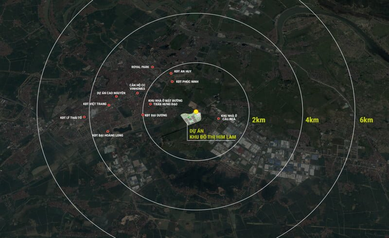 Vị trí mang tầm chiến lược của Him Lam Green Park Bắc Ninh