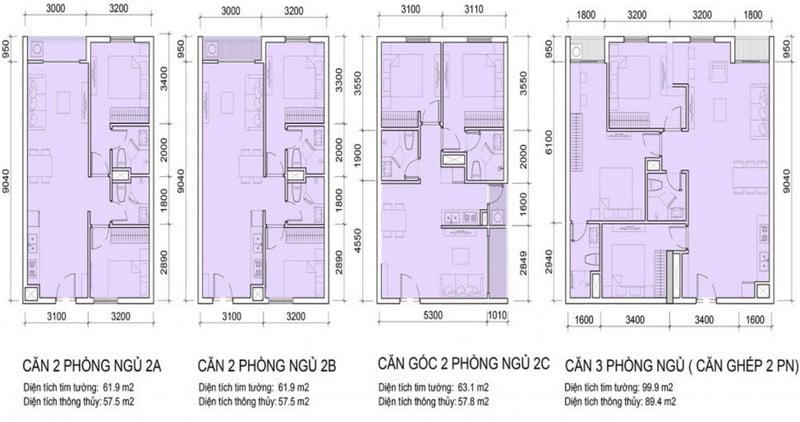 Thiết kế căn hộ 2
