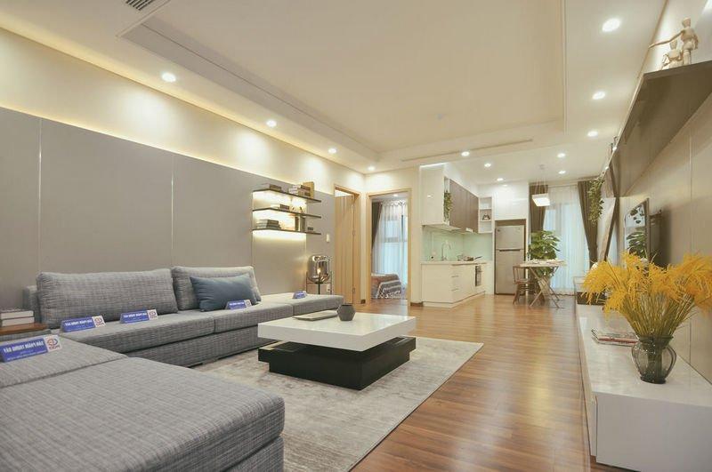 Không gian phòng khách là nơi sinh hoạt chung cho cả gia đình
