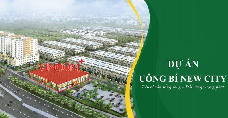 Mở bán đất nền Uông Bí New City - liền kề Vincom+ Uông Bí