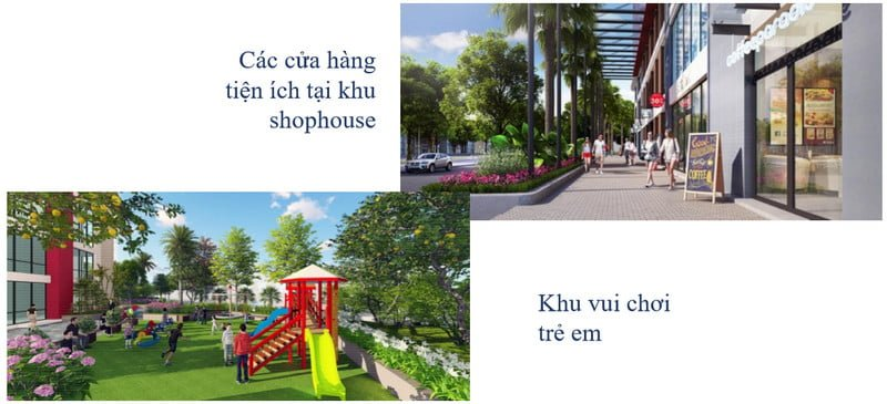 Shophouse & Khu vui chơi cho trẻ em