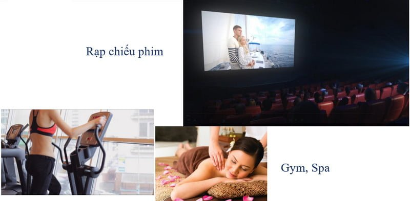 Rạp chiếu CGV & GYM
