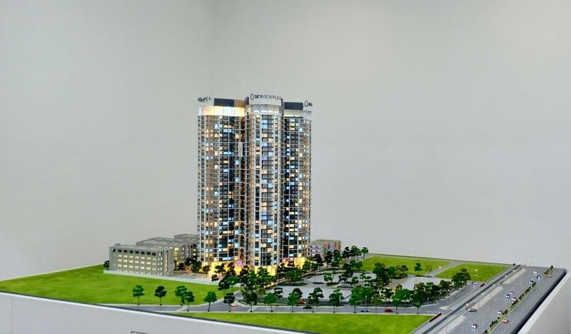 Phối cảnh chung cư SkyView Plaza 360 Giải Phóng