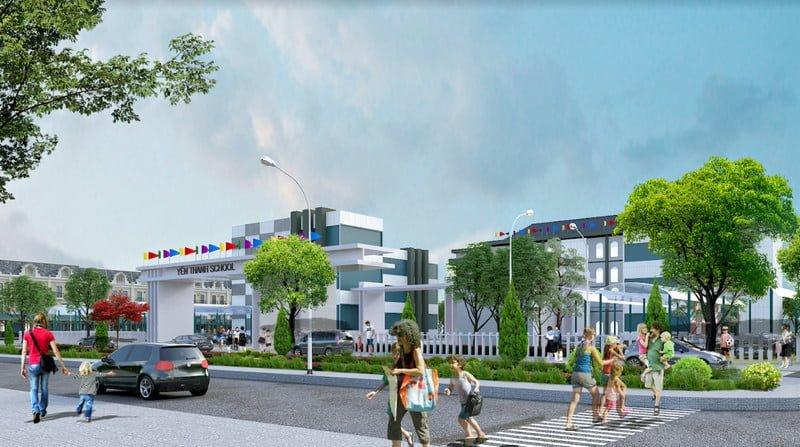 Trường học ngay trong khu dự án