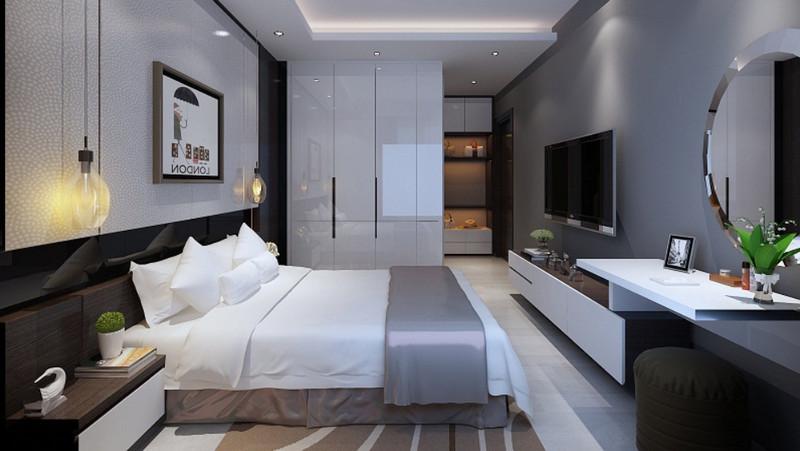 Phối cảnh phòng ngủ