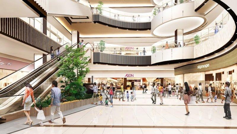 Trung tâm thương mại sang trọng và đẳng cấp