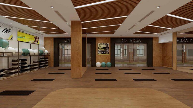 Phòng Gym & Fitness hiện đại và đẳng cấp trong tòa nhà