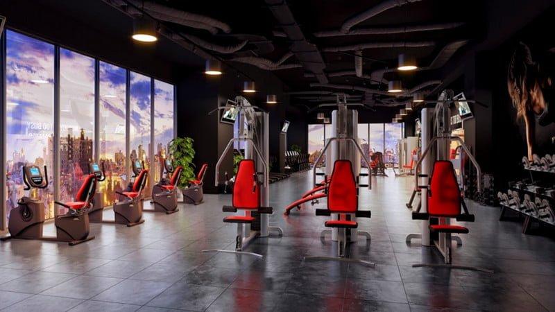 Khu luyên tập sức khỏe Gym & Spa