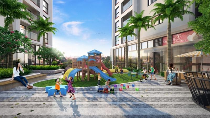 Khuôn viên & sân chơi dành cho trẻ em