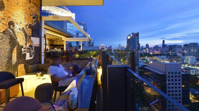 Nhà hàng trên cao cho tầm view toàn thành phố