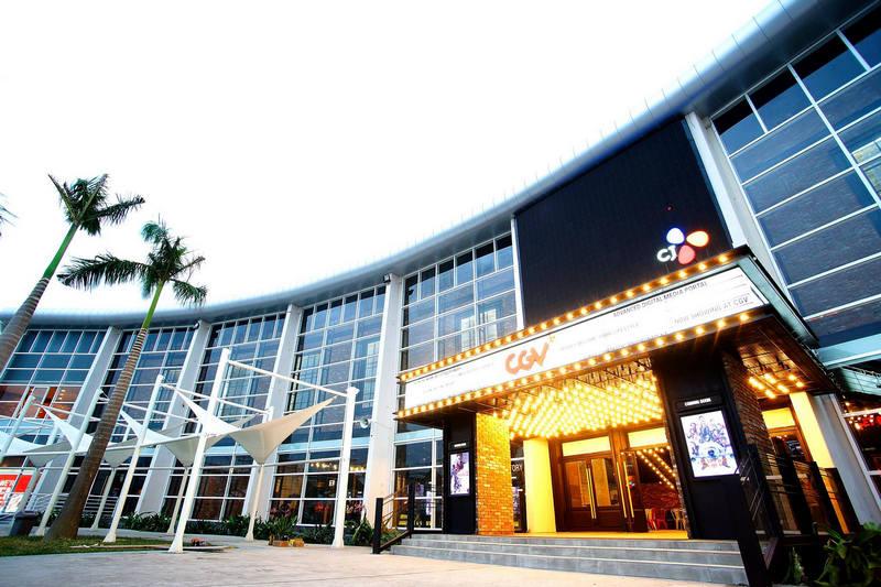Rạp chiếu phim CGV trong khu đô thị cho phép phục vụ mọi nhu cầu giải trí của du khách
