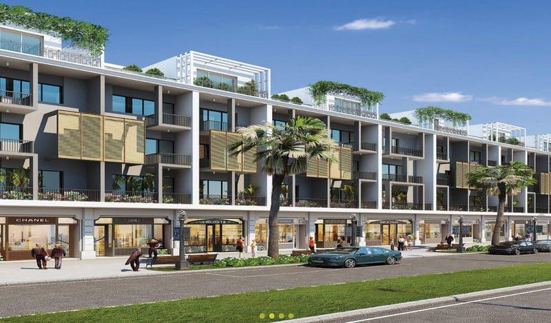 Shophouse Platinum, SL 50 căn, DT 110m2 - 180m2 , TK 02 lối đi riêng biệt,mặt tiền góc