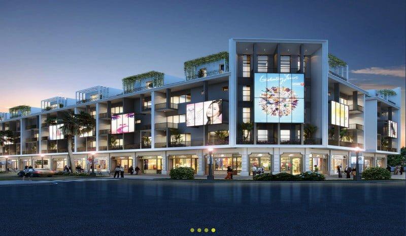 Shophouse Silver, SL 240 căn, DT 71m2 - 76m2, TL 2 lối đi riêng biệt, 1 tầng lửng