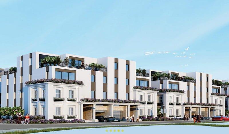 Semi - Detached Villas Platinum, SL 58 căn, DT 200m2 - 257m2