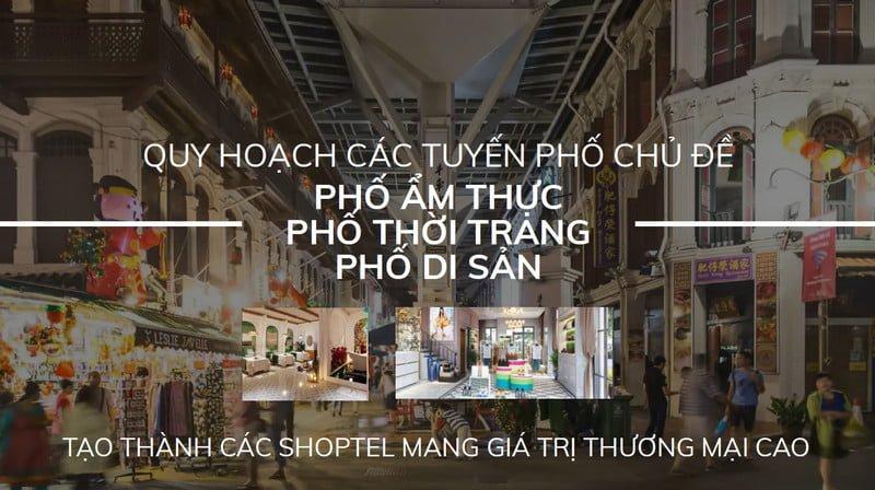 Các tuyến phố chủ đề sẽ được quy hoạch để biến nơi đây thành khu mua sắm sầm uất nhất Hạ Long