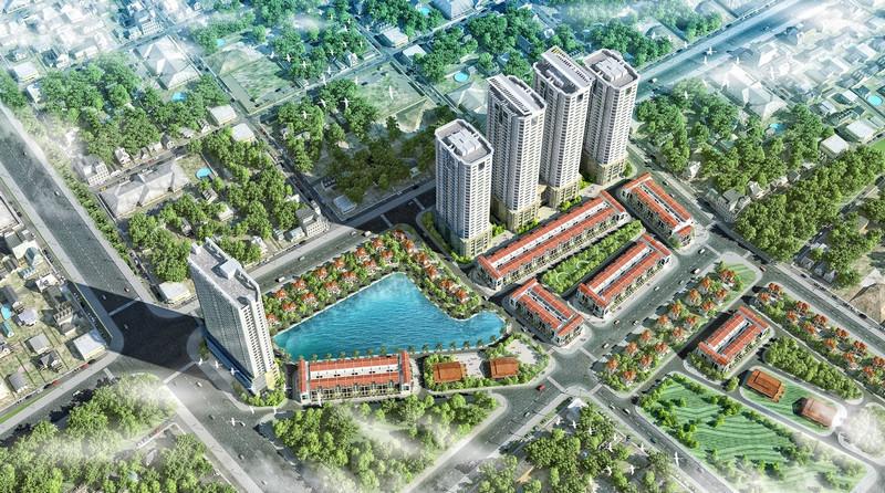 Phối cảnh dự án FLC Garden City Đại Mỗ