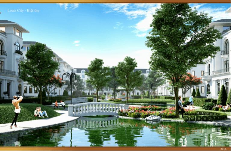Tiện ích khu đô thị Louis City Hoàng Mai