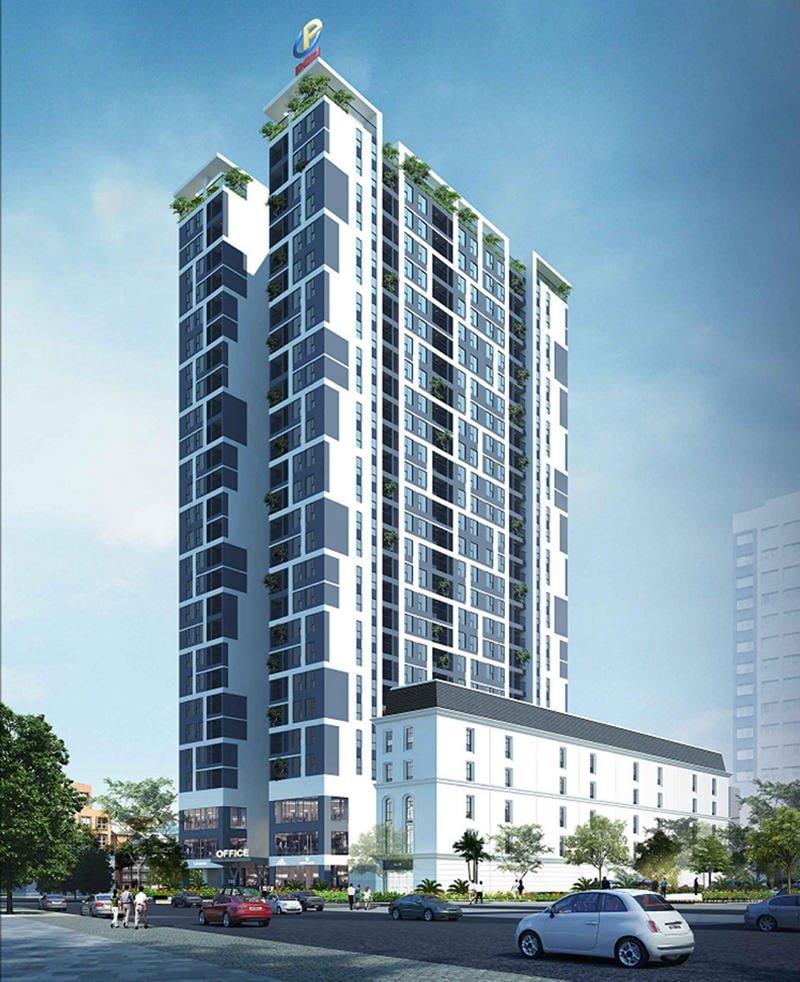 Phối cảnh dự án chung cư PCC1 Vĩnh Hưng