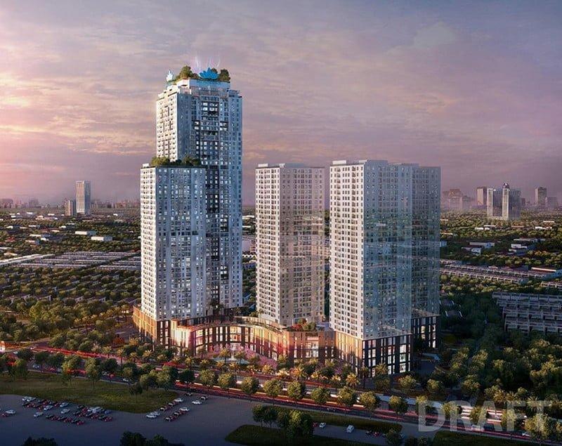 Phối cảnh dự án BID Residence Văn Khê