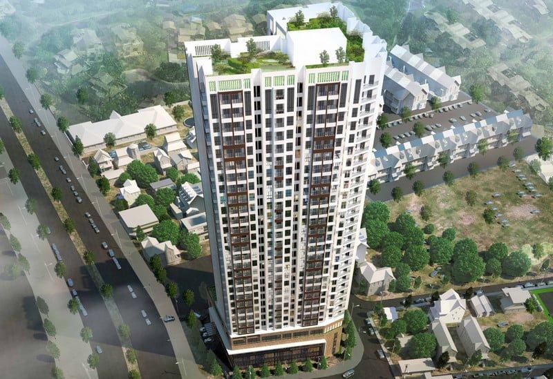 Phối cảnh dự án Green Pearl Bắc Ninh