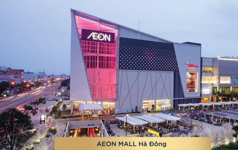 Trung tâm thương mại Aeon Mall lớn nhất Hà Nội