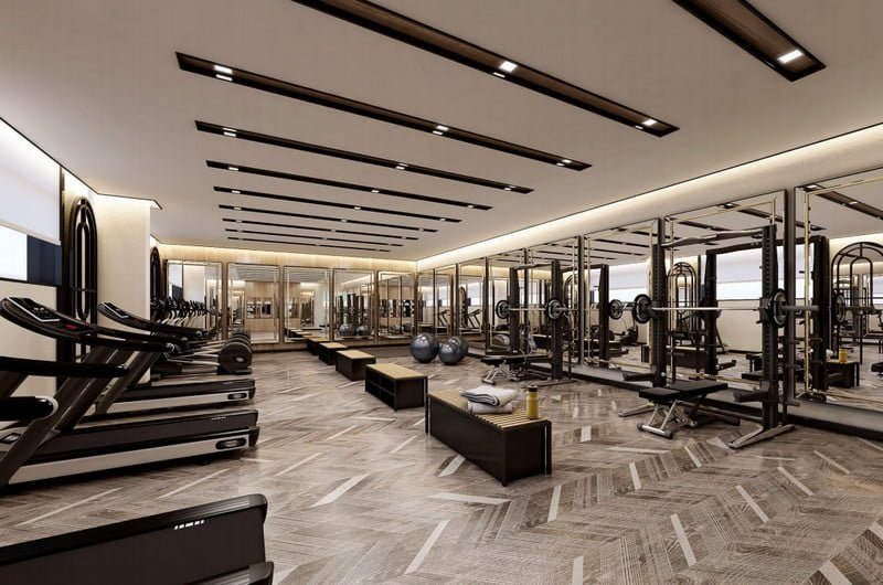 Phòng Gyms & Fitness