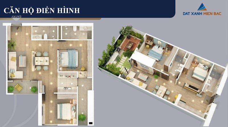 Thiết kế căn hộ điển hình (2)