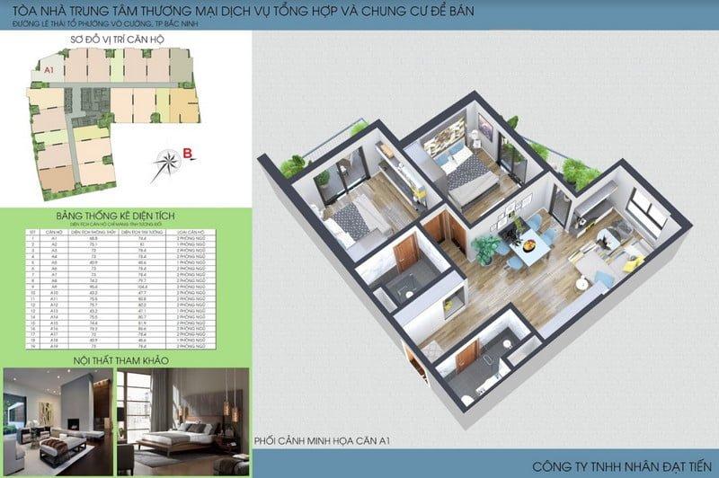 Thiết kế căn hộ loại 5