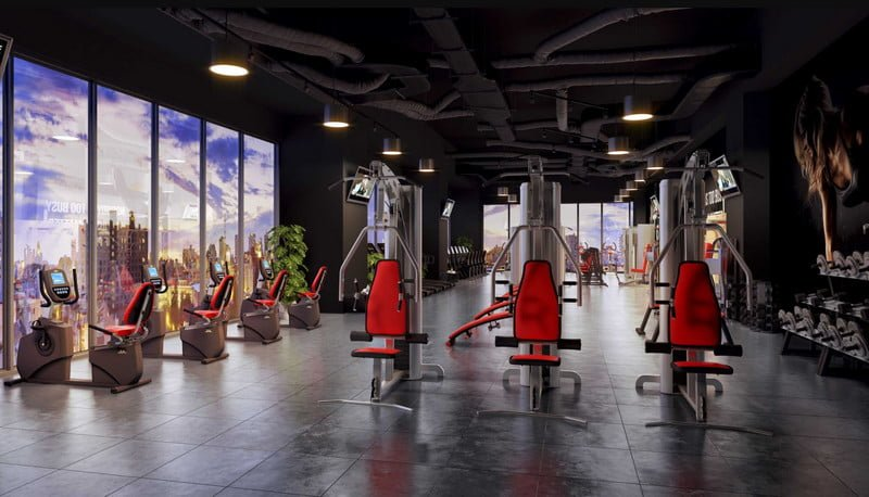 Hệ thống phòng Gyms & Fitness