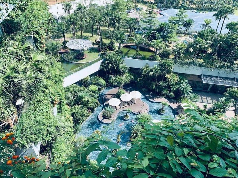 Kiến trúc cảnh quan luôn là điểm nhấn các dòng sản phẩm của Flamingo Group