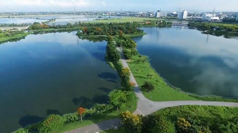 Hồ điều hòa công viên Yên Sở