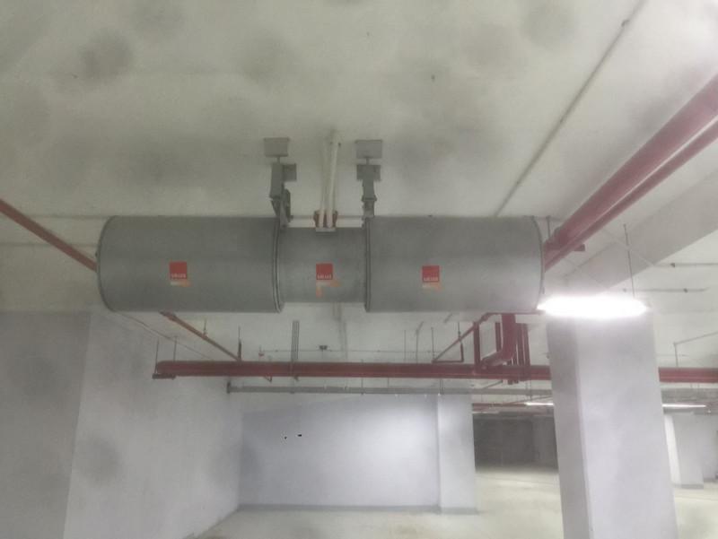Hệ thống quạt thông gió tại tầng hầm của chung cư PCC1 Mỹ Đình Plaza 2