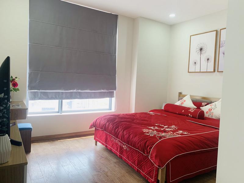 Phòng ngủ căn hộ mẫu thiết kế 3PN