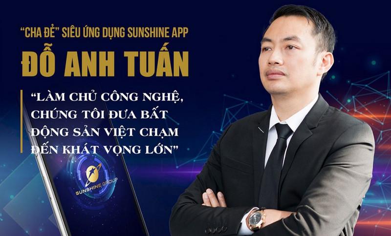 Sunshine Group muốn dùng công nghệ làm bàn đạp để vươn ra thị trường Bất Động Sản Việt