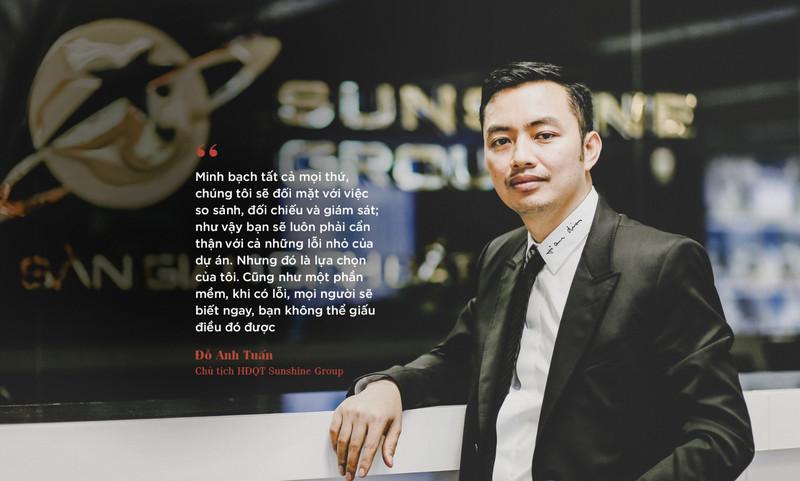 Ông Đỗ Anh Tuấn - chủ tịch HĐQT tập đoàn Sunshine