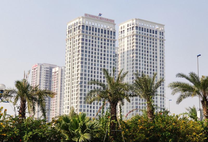 Chung cư Sunshine Riverside, chân cầu Nhật Tân, Tây Hồ, Hà Nội