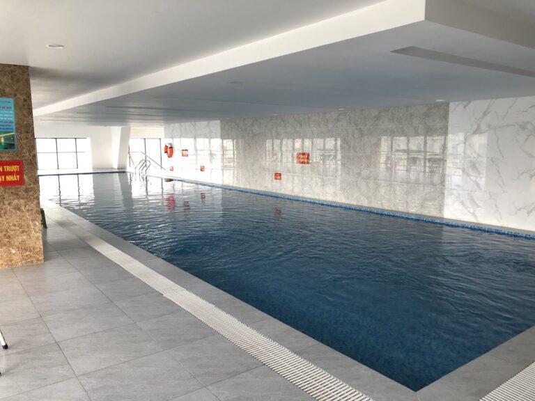Bể bơi trong nhà dự án The Sun Mễ Trì