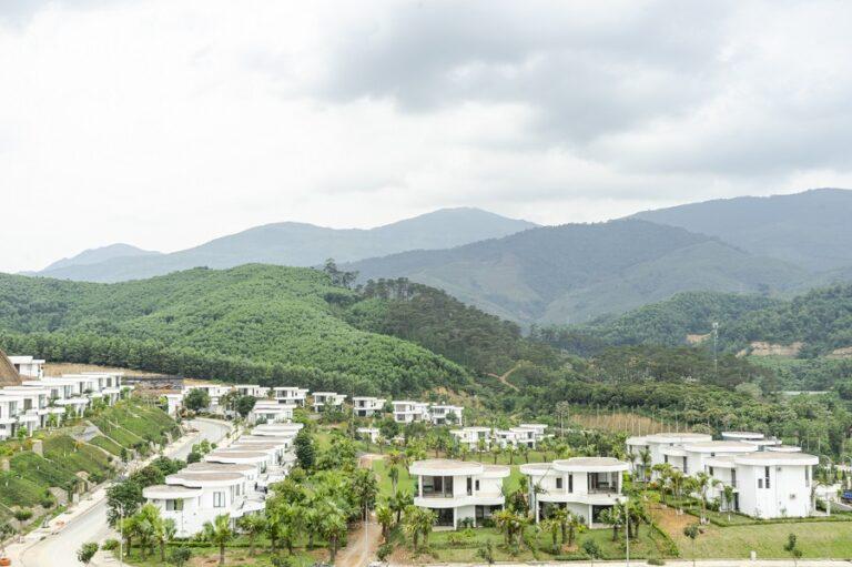 hình ảnh thực tế dự án Ivory Villas & Resort