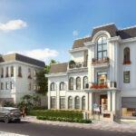 Phối cảnh sản phẩm biệt thự đơn lập dự án Crown Villas