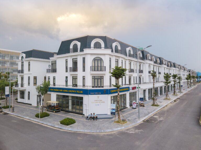 Hình ảnh thực tế tại Crown Villas Thái Nguyên