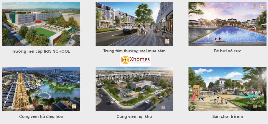 Tiện Ích Dự Án Crown Villas Thái Nguyên