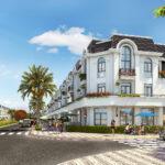 Phối cảnh Shopvillas của dự án Crown Villas Thái Nguyên