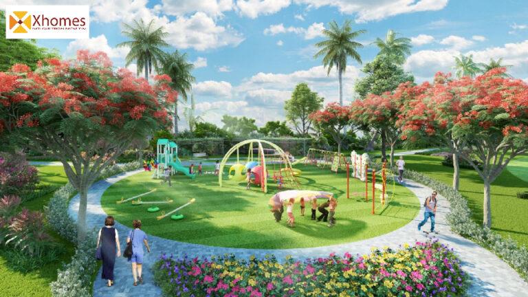 Công Viên cây xanh tại dự án Kosy Hà Nam